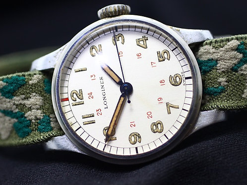 Longines Military 1946 Calibre 12L Vintage Watch