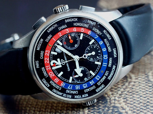 Girard-Perregaux WW.TC World Time Chronograph 43mm Titanium