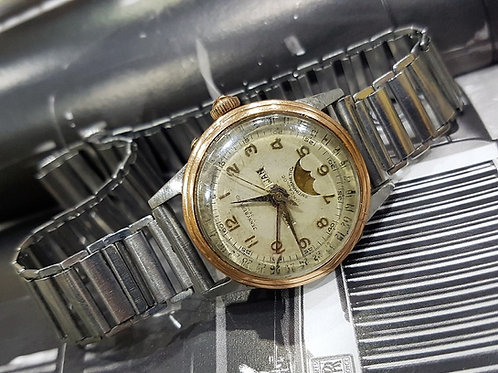 Jenny Bernard Triple Calendar Moon-phase Vintage Watch