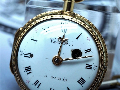 Vaucher 18K Quarter Repeater Pocket Watch