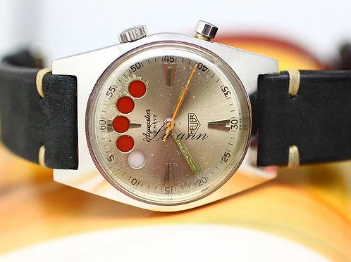 Heuer 1960s Aquastar Regate Geneve Diver Watch