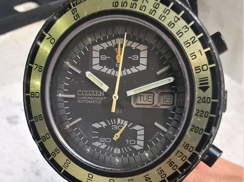 Citizen Spaceman Flyback Chronograph Vintage Watch