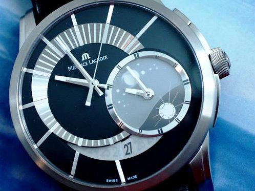 Maurice Lacroix Pontos Decentrique GMT Titanium Limited Edition