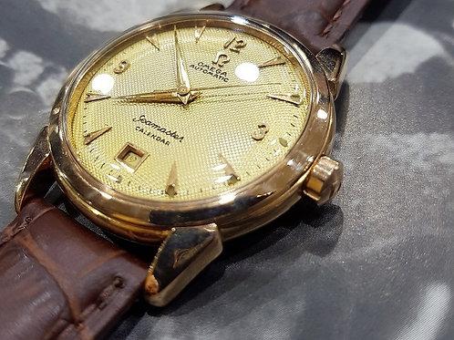 Omega Vintage Seamaster Calender Honey-comb dial