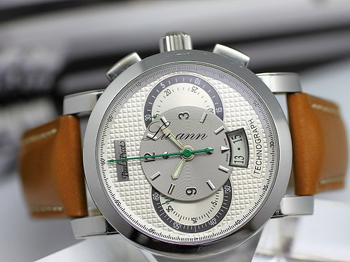Paul Picot Technograph 44mm Stainless Steel Automatic