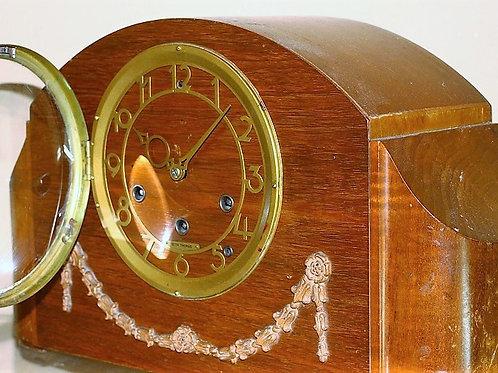 Seth Thomas Art Deco Westminster 8-Days Table clock