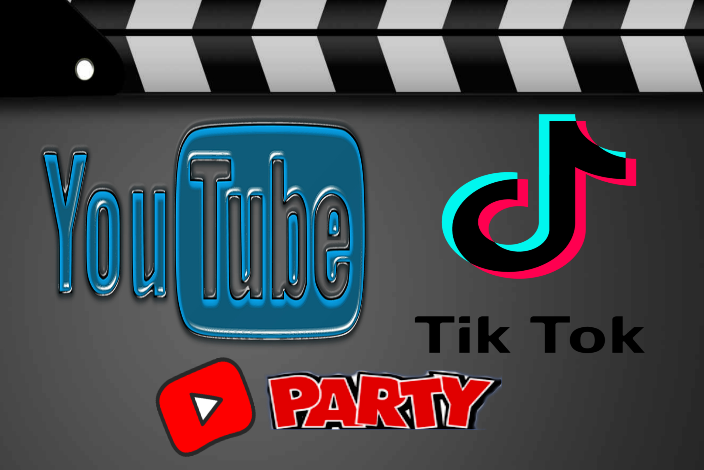 You Tube & Tik Tok party