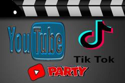 You Tube & Tik Tok party