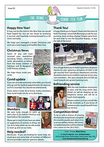 Deans Tea Club- Newsletter 05 - January