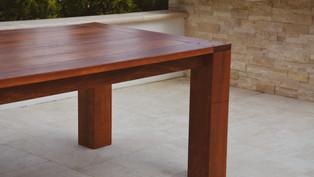 OUTDOOR IPE TABLE