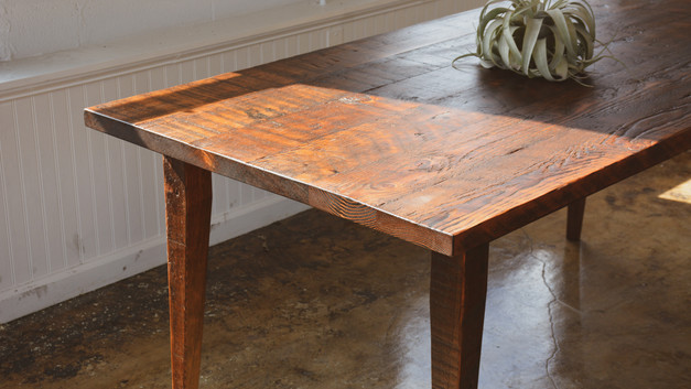 DOUGLAS FIR DINING TABLE