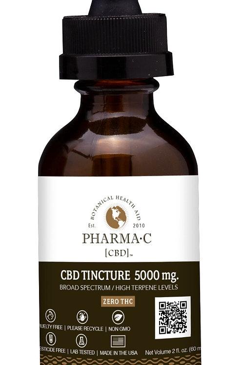 CBD Tincture 5000 mg