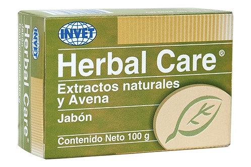 Herbal care Jabón con Extractos naturales y Avena x 100 g