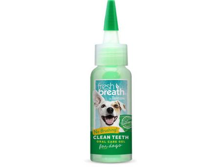Fácil de limpiar los dientes a tu perro