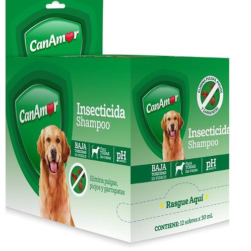 CanAmor Shampoo Insecticida sobre 30 ml