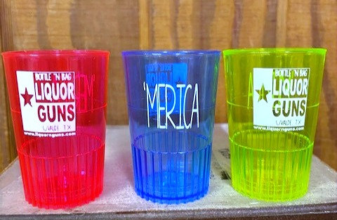 Liquor 'n Guns - Shot Glasses