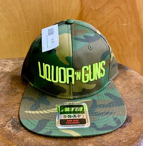 Liquor N Guns-Otto Camo Cap