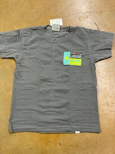 Kids Grey Logo Shirt
