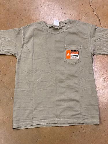 Adult Khaki Logo Shirt