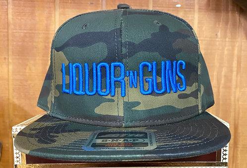 LIQUOR N GUNS Camouflage OTTO Cap