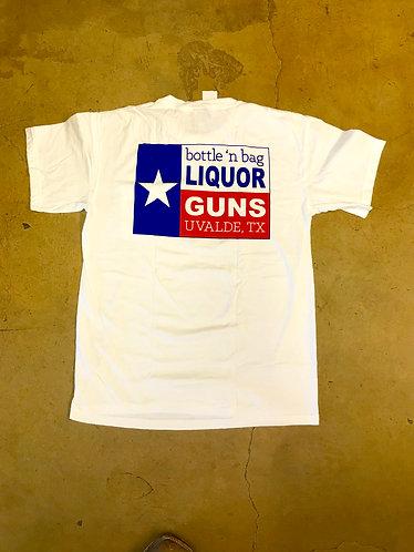 Liquor 'n Guns Pocket Tee