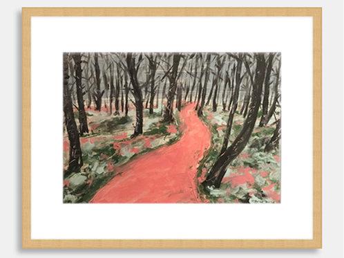 Path through Londonthorpe Wood   2018