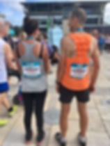 Half Marathon - Claire Smith and Nick Tu