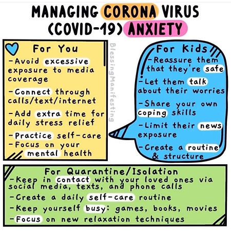 Simple Corona Virus Anxiety Advice.JPG