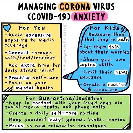 Simple Corona Virus Anxiety Advice.JPG