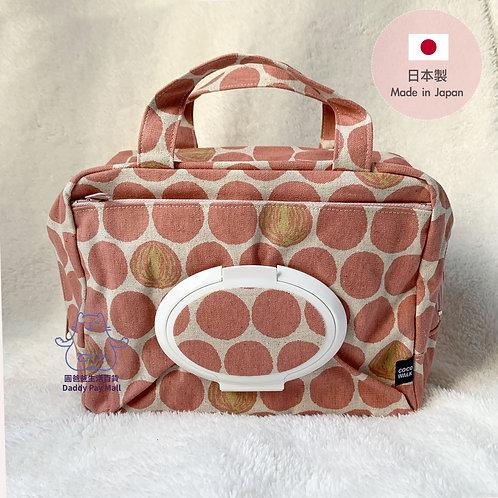 [日本製 Made in Japan] COCOWALK 濕紙巾尿片媽媽袋 Diaper Bag with Wipes Pocket