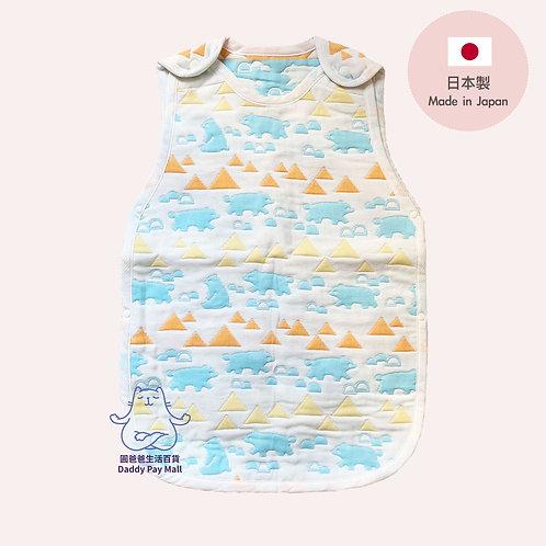 [日本製 Made in Japan]Nishizaki 嬰兒六重紗防踢睡袋 6 Layer Gauze Anti Kick Baby Sleeping Bag