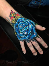 570Tattooing Co Original Ink by Ron Flower Hand
