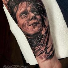 570 Tattooing Co Original Ink by Ron Edward Scissorhands