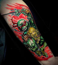 570Tattooing Co Original Ink by Ron Ninja Turtle