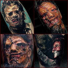 570Tattooing Co Original Ink by Ron Horror Realism