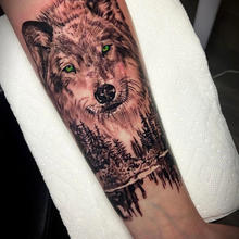 570 Tattooing Co Original Ink by Ron Nature Wolf