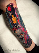 570Tattooing Co Original Ink by Ron Horror Sleeve