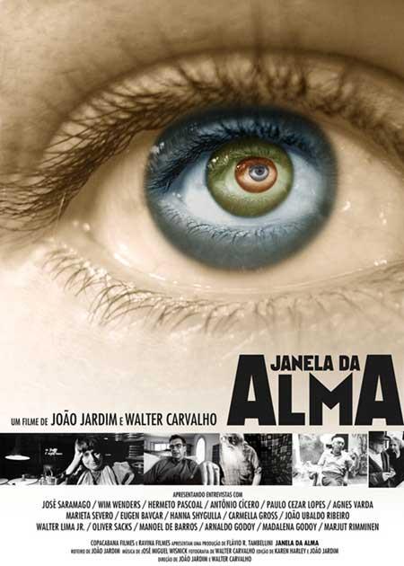 Cartaz do documentário Janela da Alma