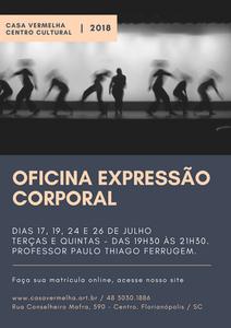 Oficina Expressão Corporal