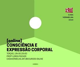 Consciência e Expressão Corporal Online.