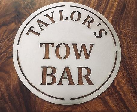 Taylor's Tow Bar