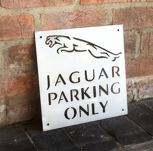 Jaguar Parking Only