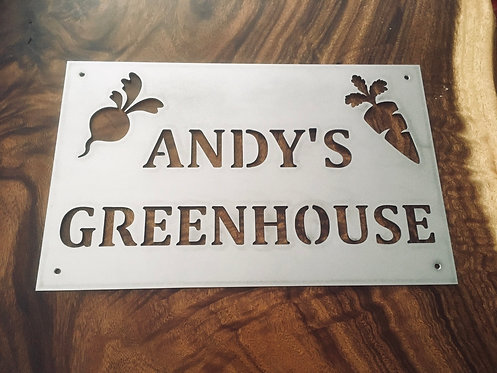 Andy's Greenhouse