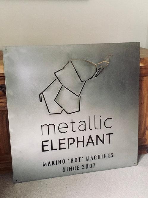 Metallic Elephant