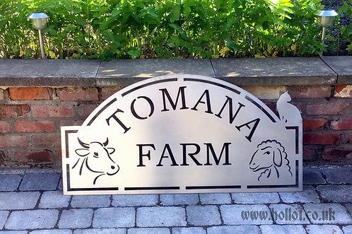 Tomana Farm Sign