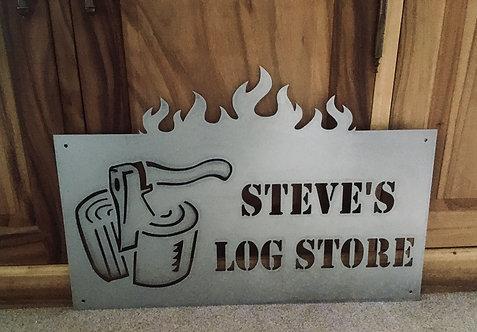 Steve's Log Store