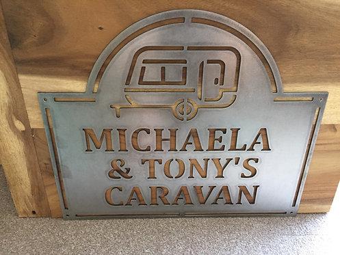 Michaela & Tonys  Caravan