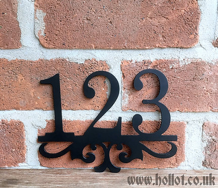 Elegant House Number