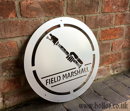 Field Marshall sign