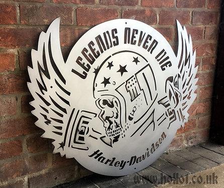 Harley Davidson - Legends never die